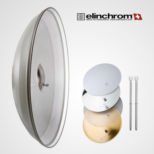 Beauty Dish White 82º Elincrhom 70 cm.