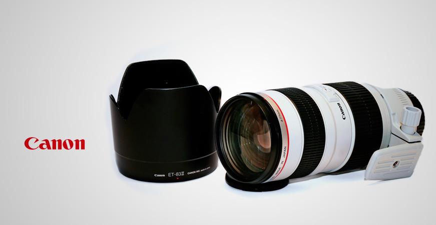 Objetivo Canon EF 70-200 f/2.8L USM