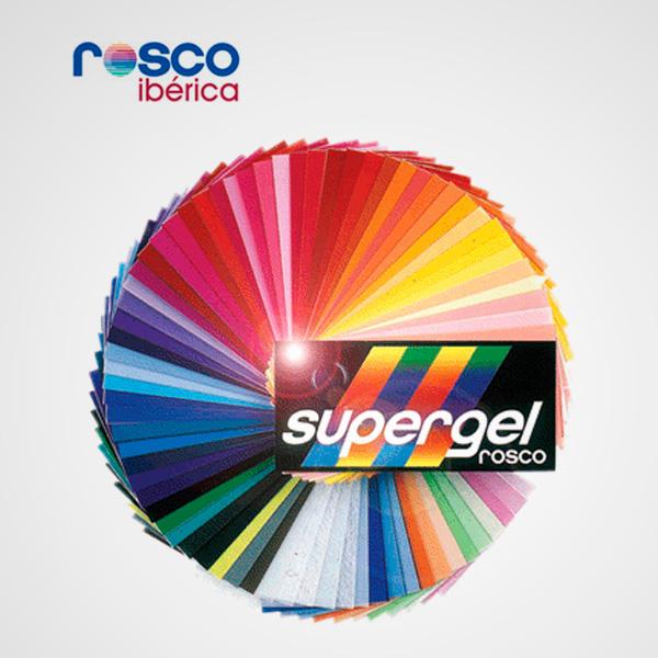 Juego Filtros de Gel Rosco Supergel