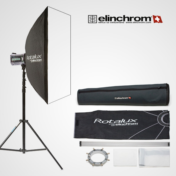 Softbox Elinchrom Rotalux Square 1×1 m.