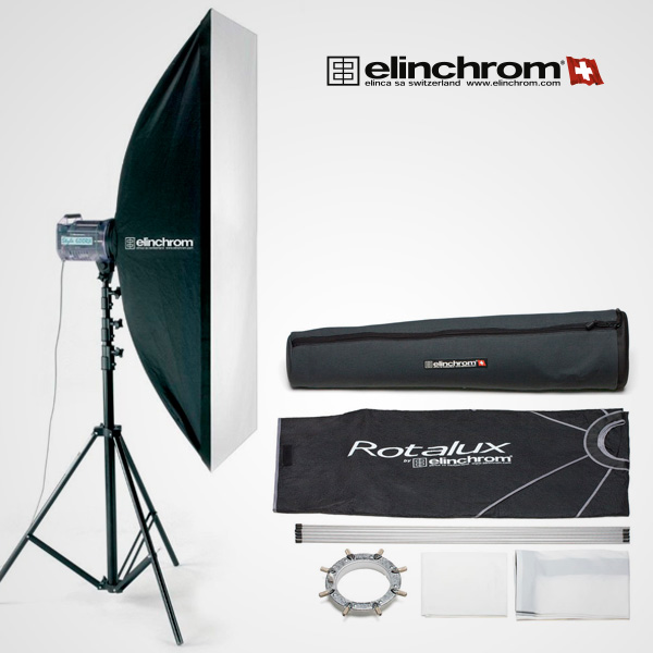 Softbox Elinchrom Rotalux Strip 50×130 cm.